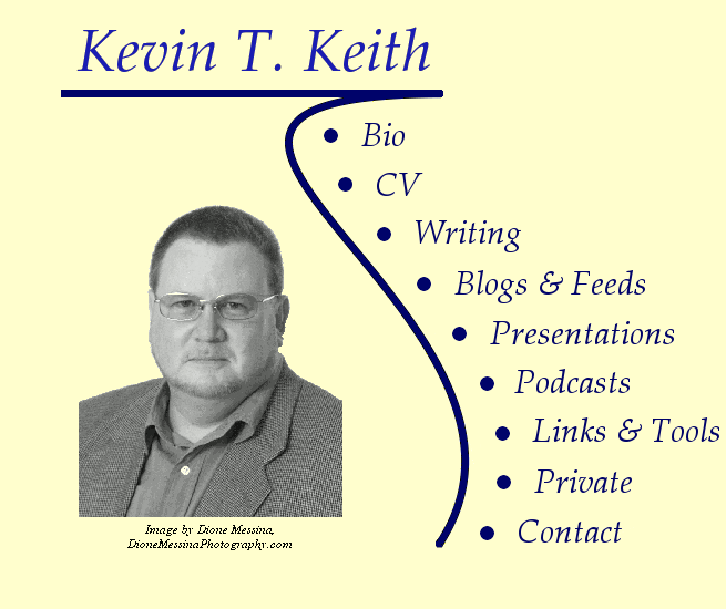 Kevin T. Keith: The Man Himself